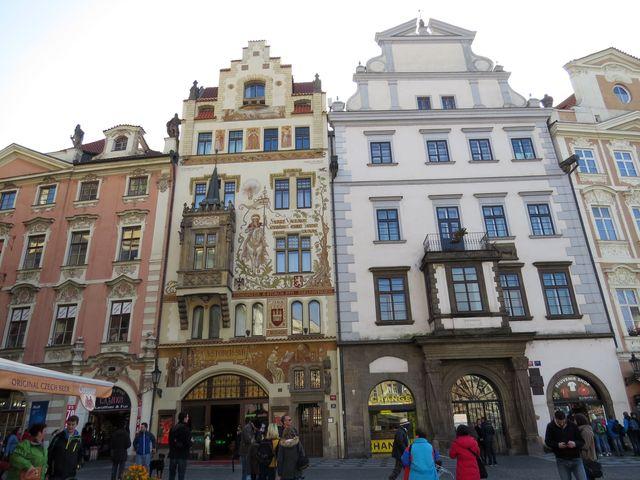 Štorchův dům na Staroměstském náměstí