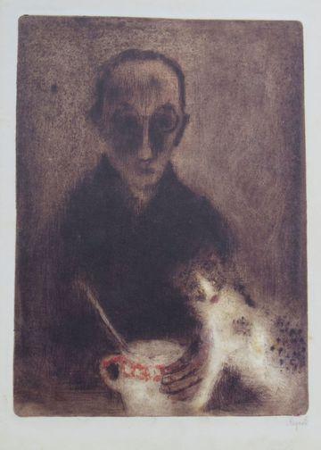 Bohuslav Reynek - autoportrét