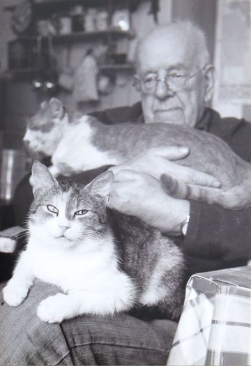 Daniel Reynek - foto z katalogu k jeho výstavě v létě 2012 v Domě Gustava Mahlera
