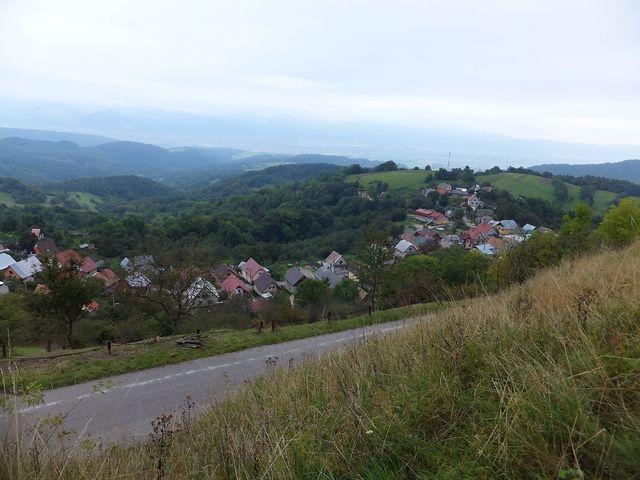 obec Vršatecké Podhradí; foto I. Svobodová