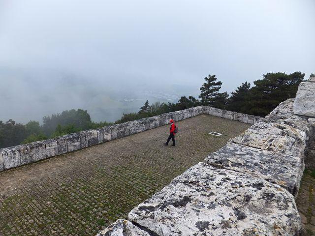 pohled na Březovou z plošiny pod mohylou; foto I. Svobodová