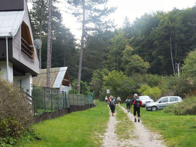 v okolí Bukové v Malých Karpatech; foto I. Svobodová