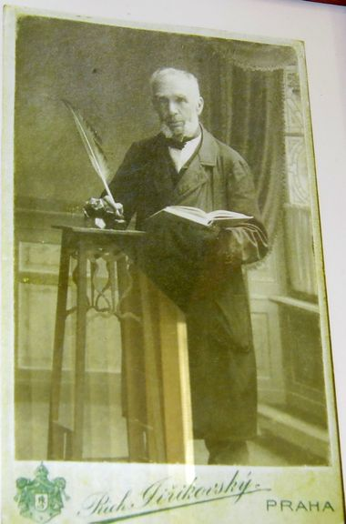 profesor Jakub Hron v roce 1910