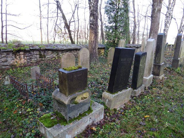 židovský hřbitov u osady Antonka