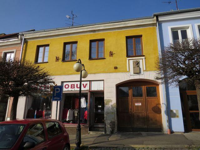 rodný dům skladatele V. Nováka v Kamenici nad Lipou