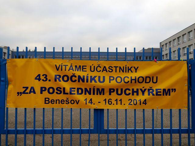 areál ZŠ Dukelská, kde byla prezentace
