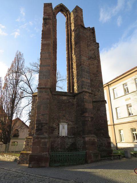 klášter byl založen v polovině 13. století