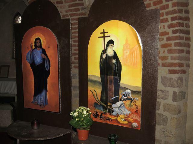 v kryptě kostela sv. Prokopa v Sázavě