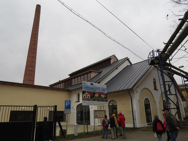 sklářské centrum v Sázavě - Huť František