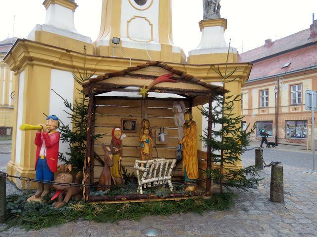 advent na náměstí v Jaroměřicích