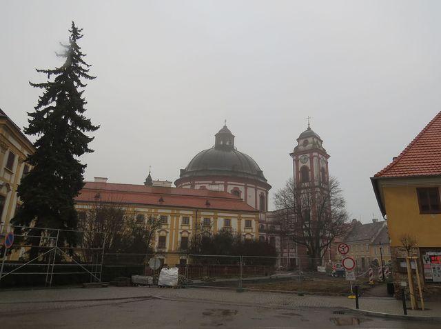 barokní kostel sv. Markéty v Jaroměřicích nad Rokytnou