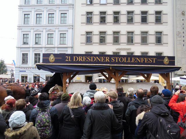 štola vezená na Altmarkt