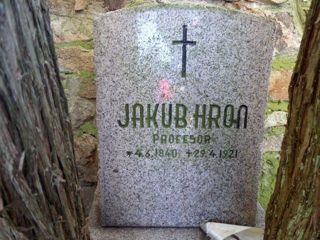náhrobní kámen v Častrově