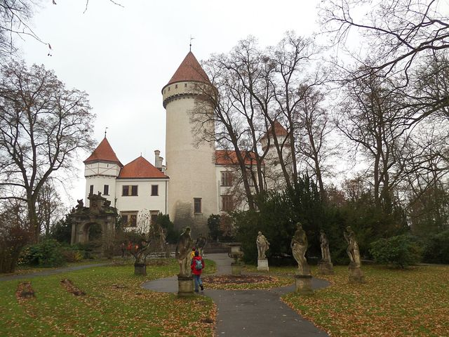 zámecký park Konopiště