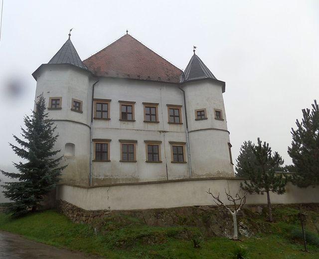 zámek v Boskovštejně