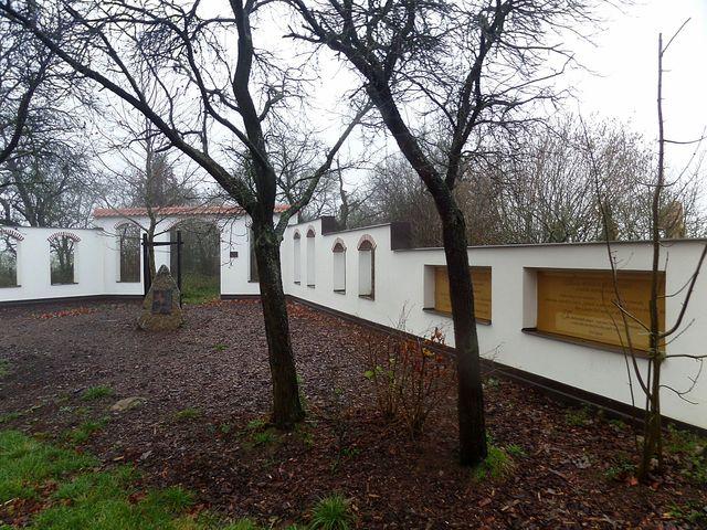 vstup do odpočinkového areálu v Jiřicích u Moravských Budějovic