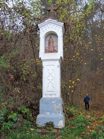 kaplička sv. Prokopa u vstupu do Čertovy brázdy