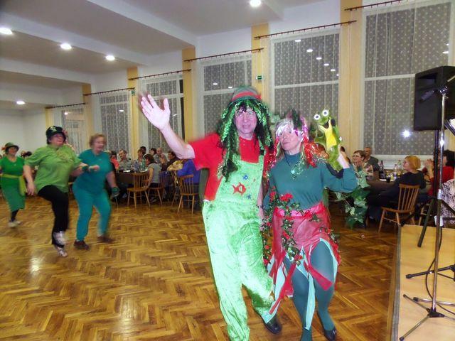 třebíčští turisté měli letos masky na téma Vodní havěť