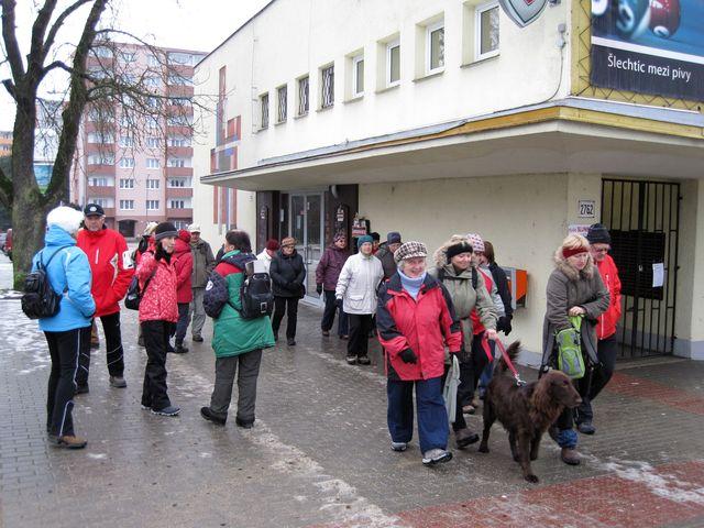 turisté z KČT Čeřínek měli sraz v Bedřichově; www.svatosi.cz