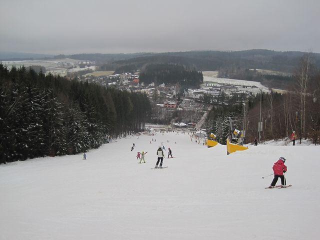 tradiční snímek, abychom po letech věděli, jaké bylo počasí; www.svatosi.cz