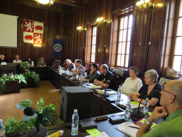 delegáti z Pelhřimova, Jihlavy-Bedřichova a Třebíče
