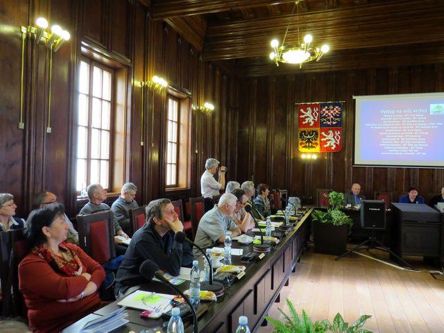 delegáti ze Světlé nad Sázavou, Golčova Jeníkova, Třeště, Měřína a Tesly Jihlava