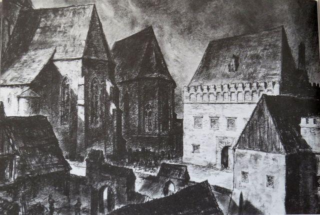 Škola v Jihlavě roku 1562 - latinské gymnázium patřilo k nejstarším v českých zemích