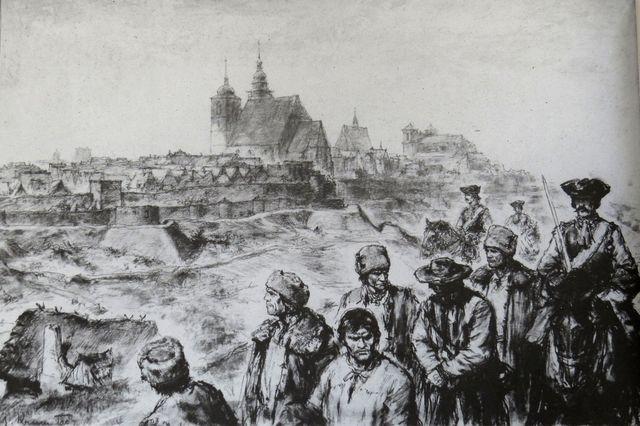 Selské vzpoury - vůdci selského povstání ve Stonařově jsou odváděni z Jihlavy do vězení na Špilberku roku 1722