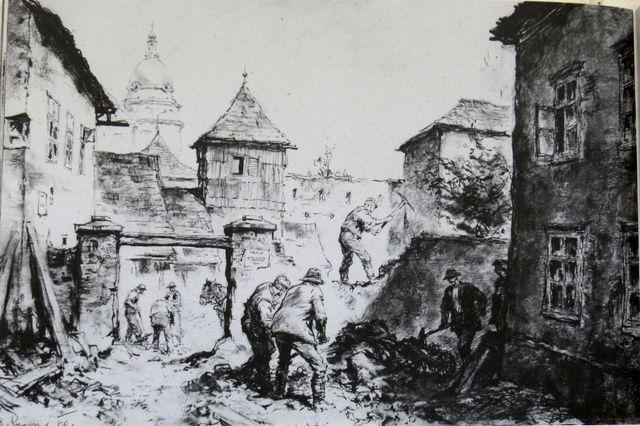 Jihlava rostě - Prolomení hradeb roku 1891