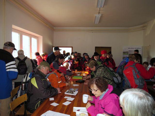 z Jihlavy přijely desítky turistů ze všech odborů KČT
