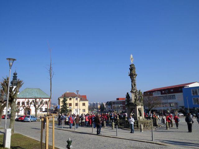 oficiální zahájení proběhlo na nově opraveném žďárském náměstí