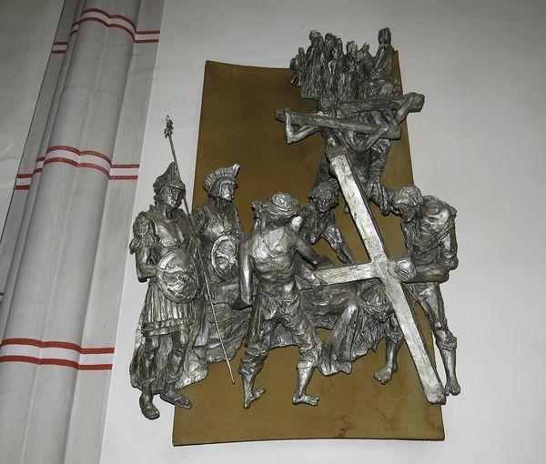křížová cesta v kostele sv. Prokopa ve Žďáru nad Sázavou