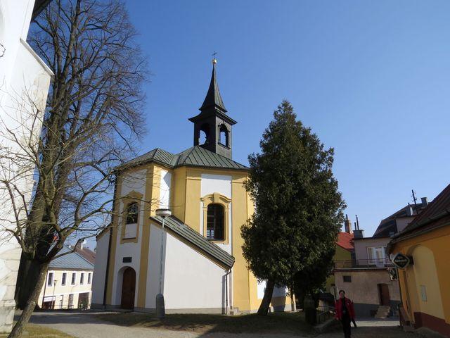 kaple sv. Barbory ve Žďáru nad Sázavou