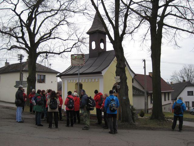 kaple Panny Marie v Přísece u Světlé nad Sázavou; www.svatosi.cz