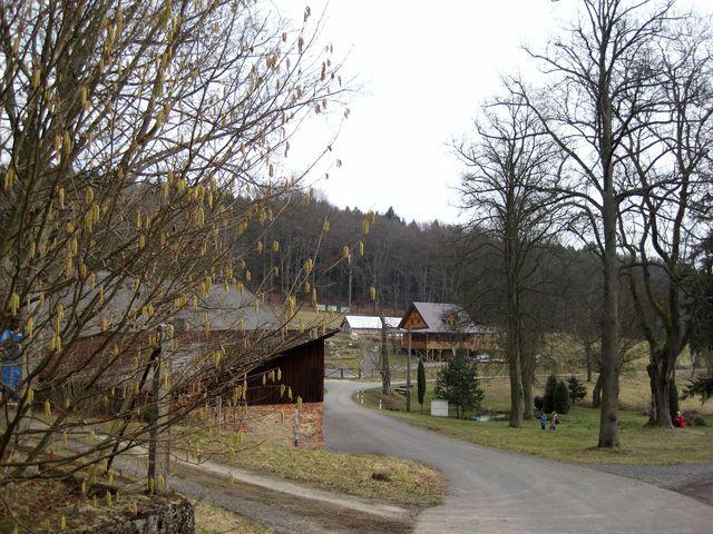 obec Dobrá Voda, kde bývala nejstarší historicky doložená sklárna na Světelsku