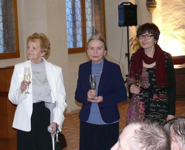 paní Krumová, Dr. Hoffmannová a Dr. Pisková