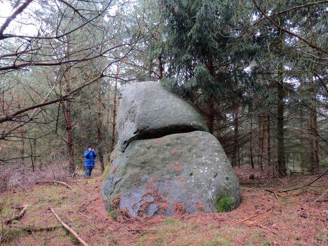 obřadní kámen na vrchu Háj nad Tasovem