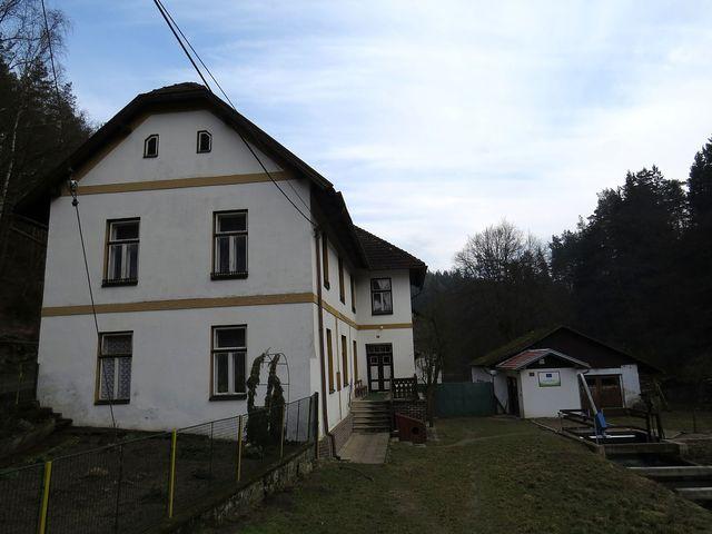 samota Papírna, kde bydlela s rodiči Lidmila Dohnalová-Vodičková celé mládí