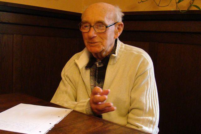 Ing. Jan Koday vypráví o značení na Jihlavsku v době jeho aktivní značkařské činnosti - seminář značkařů 23.3.2009