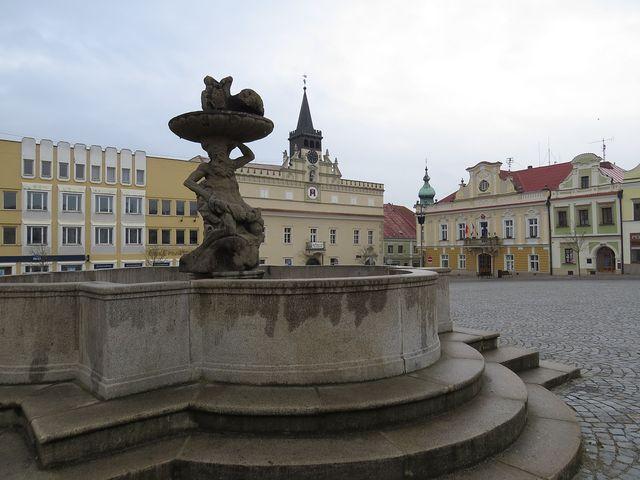 zrekonstruované brodské náměstí