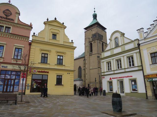věž kostela Nanebevzetí Panny Marie