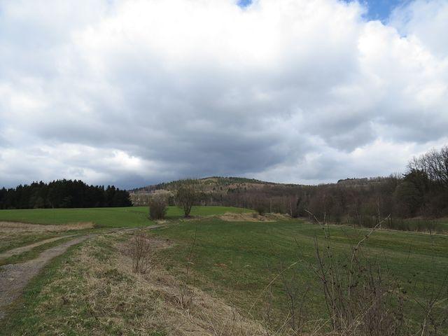 Dědkovská hora od Blízkova