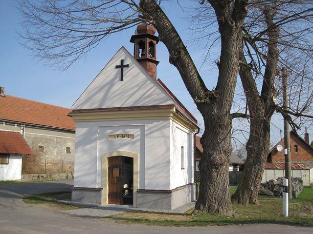 kaple Panny Marie v Habrovči; www.svatosi.cz