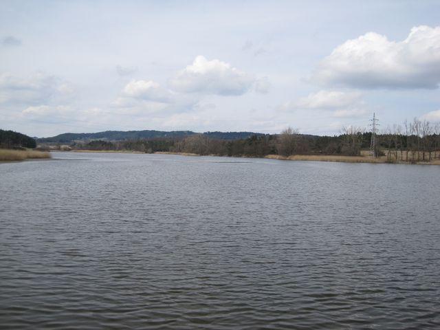 rybník Velký Bor u Trnavy
