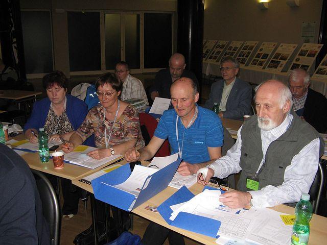 delegáti z oblasti KČT Vysočina; foto M. Bradová