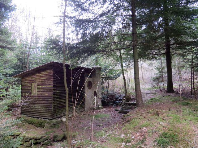 sauna u Kamenné hájenky