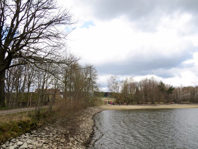 hráz Maršovského rybníka