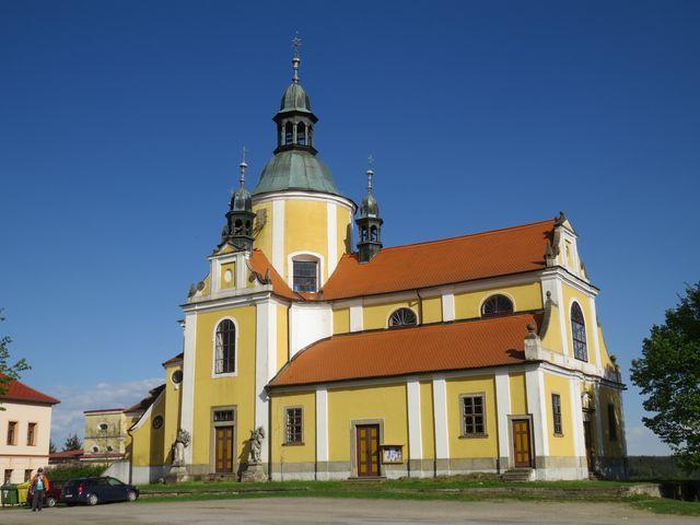 do kostela chodíval arcivévoda ď Este, kterému chlumské panství patřilo
