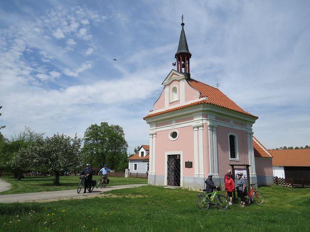 barokní kaple sv. Víta