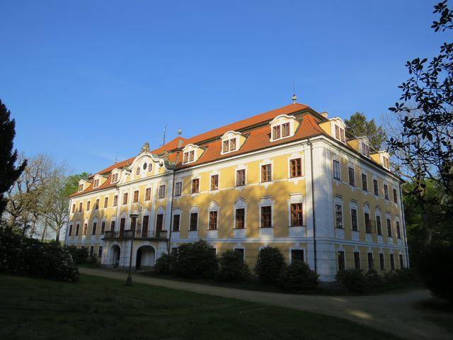 zámek v Chlumu u Třeboně